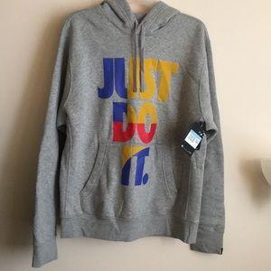 Men's JUST DO IT Nike therma hoodie